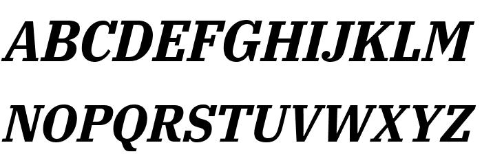 IBM Plex Serif Bold Italic Font Litere mari