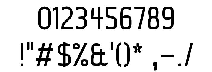 Ice Sans Regular Font OTHER CHARS