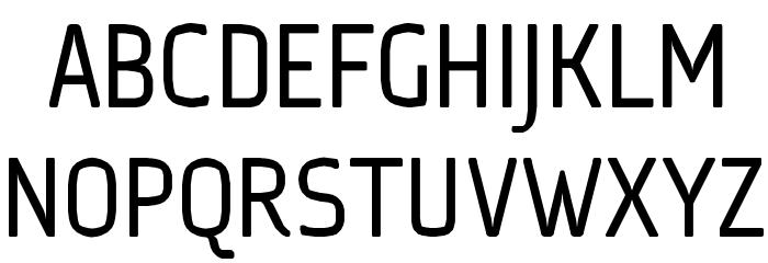 Ice Sans Regular Font UPPERCASE