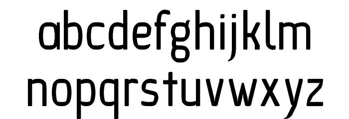 Ice Sans Regular Font LOWERCASE