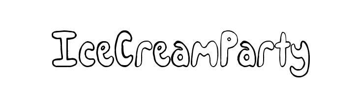IceCreamParty  baixar fontes gratis