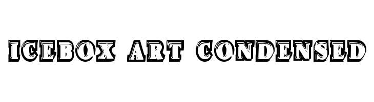 Icebox Art Condensed  baixar fontes gratis