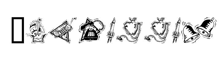 Iconettes  Скачать бесплатные шрифты