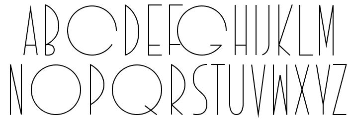 Idilica Schriftart Groß