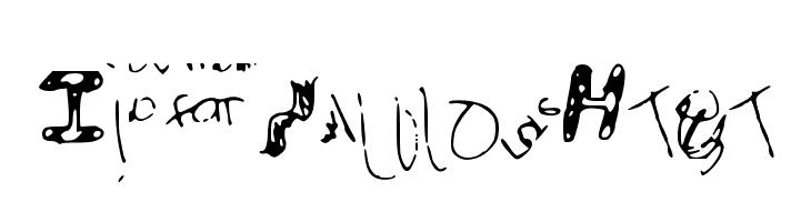 IdiotWasHere  Free Fonts Download
