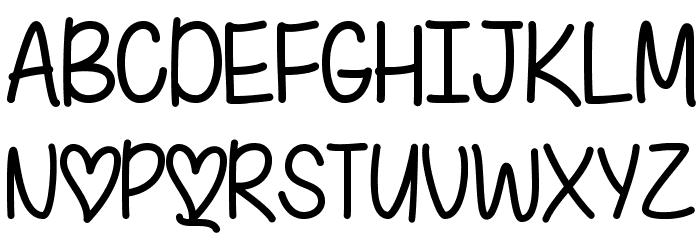 IFoundMyValentine Font UPPERCASE