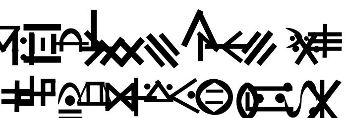 Ignis normal Font UPPERCASE