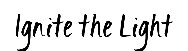 Ignite the Light  Free Fonts Download