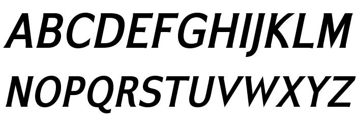 IkariusADFStd-BoldItalic Font UPPERCASE