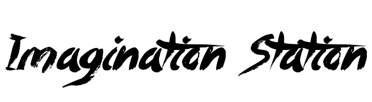 Imagination Station  Free Fonts Download