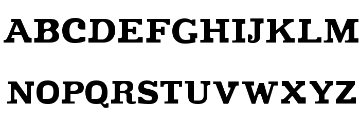 Improvisation Font UPPERCASE