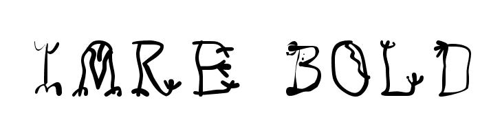 Imre Bold  Скачать бесплатные шрифты