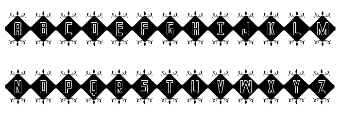InIcIaLeS St Font LOWERCASE