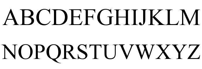 InaiMathi Font UPPERCASE