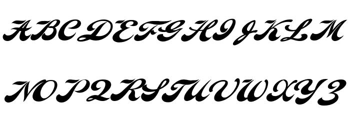 Indiana Script PERSONAL USE फ़ॉन्ट अपरकेस