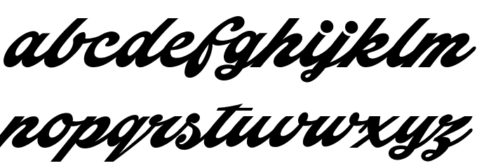 Indiana Script PERSONAL USE फ़ॉन्ट लोअरकेस
