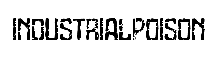 Industrial Poison  Free Fonts Download