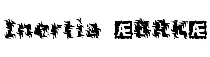 Inertia [BRK]  Free Fonts Download