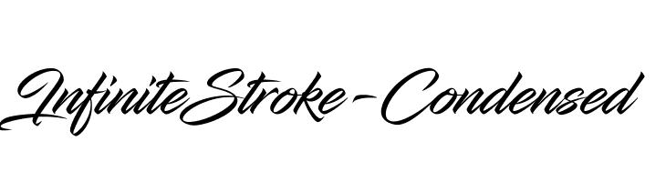 InfiniteStroke-Condensed  Descarca Fonturi Gratis