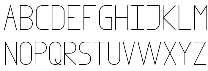 Infinity 1 لخطوط تنزيل الأحرف الكبيرة
