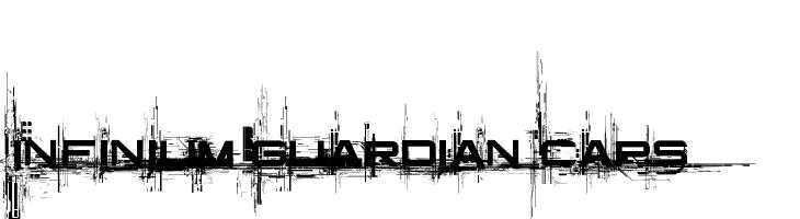 Infinium Guardian Caps  les polices de caractères gratuit télécharger