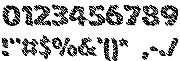 Ink Swipes BRK لخطوط تنزيل حرف أخرى