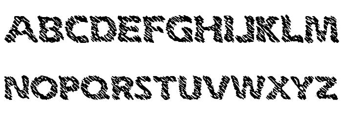 Ink Swipes BRK لخطوط تنزيل الأحرف الكبيرة