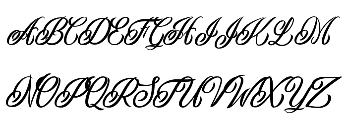 Inked Skin Personal Use  Font UPPERCASE