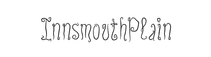 InnsmouthPlain  font caratteri gratis