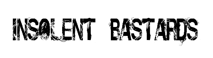 Insolent_Bastards  Free Fonts Download