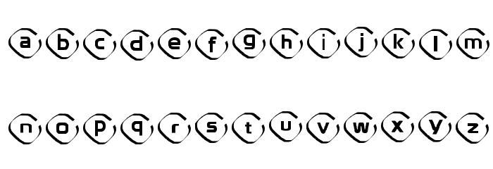 Instanovelist Regular Font LOWERCASE