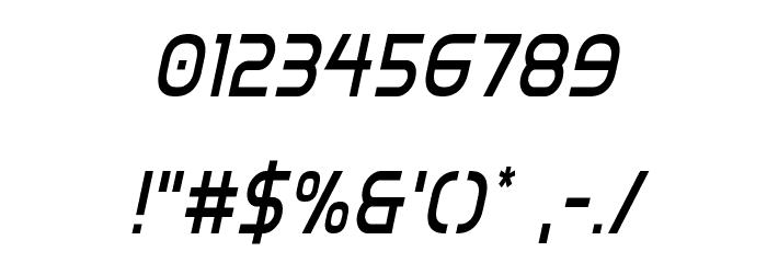 Inter-Bureau Condensed Italic Fonte OUTROS PERSONAGENS
