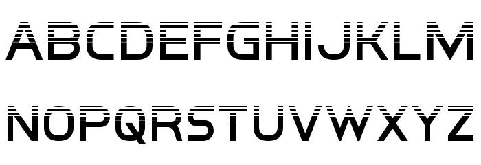 Inter-Bureau Halftone 字体 小写