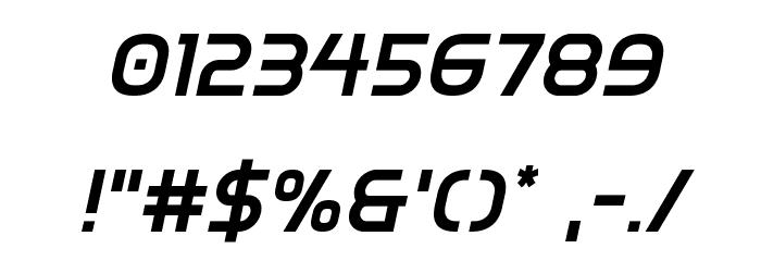 Inter-Bureau Semi-Bold Italic Fonte OUTROS PERSONAGENS