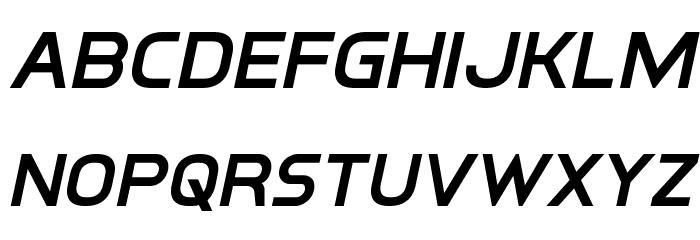 Inter-Bureau Semi-Bold Italic फ़ॉन्ट लोअरकेस