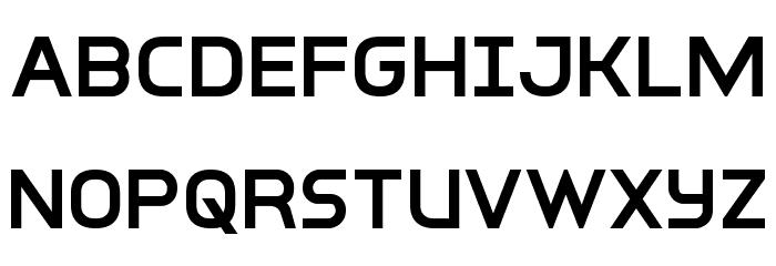 Inter-Bureau Semi-Bold フォント 大文字