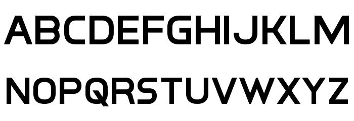Inter-Bureau Semi-Bold フォント 小文字