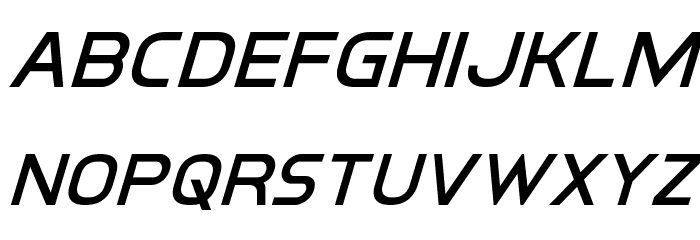 Inter-Bureau Super-Italic Fonte MINÚSCULAS