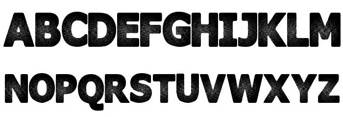 InterFade Шрифта ВЕРХНИЙ