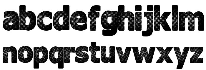 InterFade Шрифта строчной
