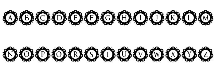 International Capitals Regular Font Litere mari