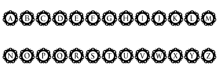 International Capitals Regular Font Litere mici