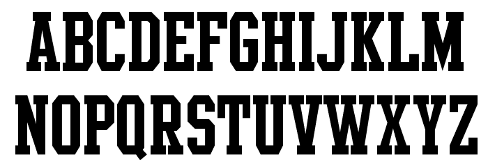 Intramural JL Font UPPERCASE