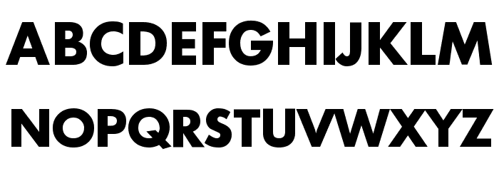 Intrepid Bold Font UPPERCASE