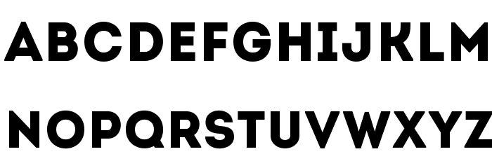 Intro Font LOWERCASE