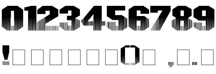 InvisibleKiller Font OTHER CHARS