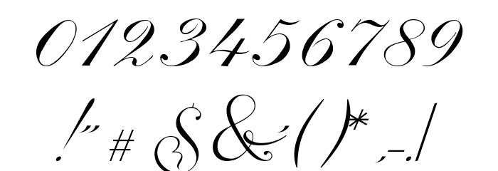 Invitation Script LIMITED FREE VERSION Шрифта ДРУГИЕ символов