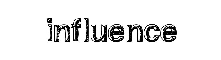 influence  Free Fonts Download