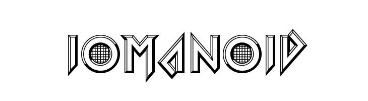 Iomanoid  नि: शुल्क फ़ॉन्ट्स डाउनलोड