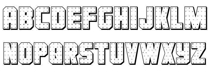 Iron Forge 3D Regular Шрифта строчной